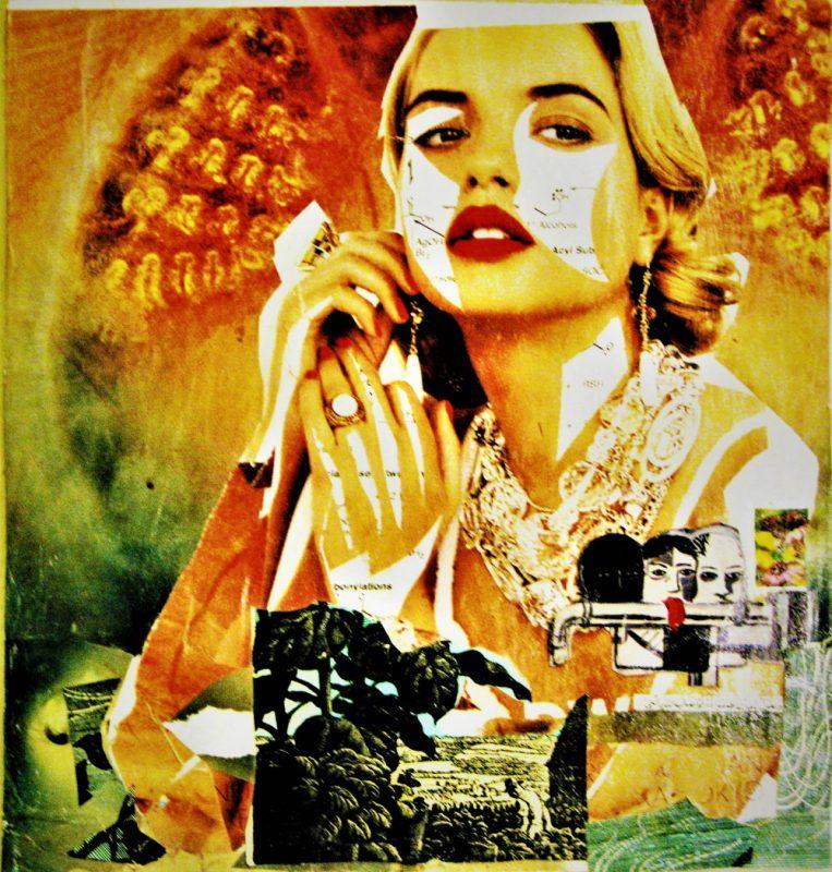 Fair Use, a Found Art Collage by Kate Bopp